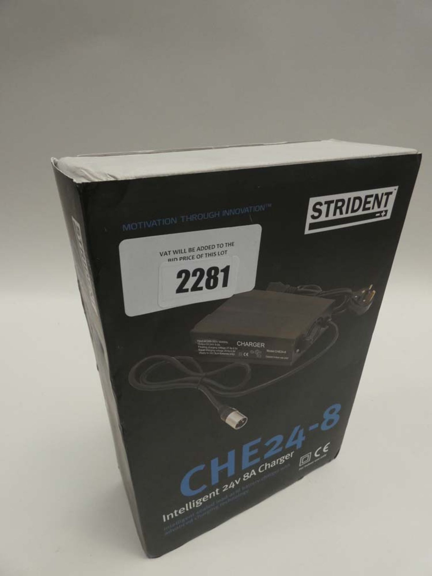 Lot 2281 - Strident CHE24-8 24V charger
