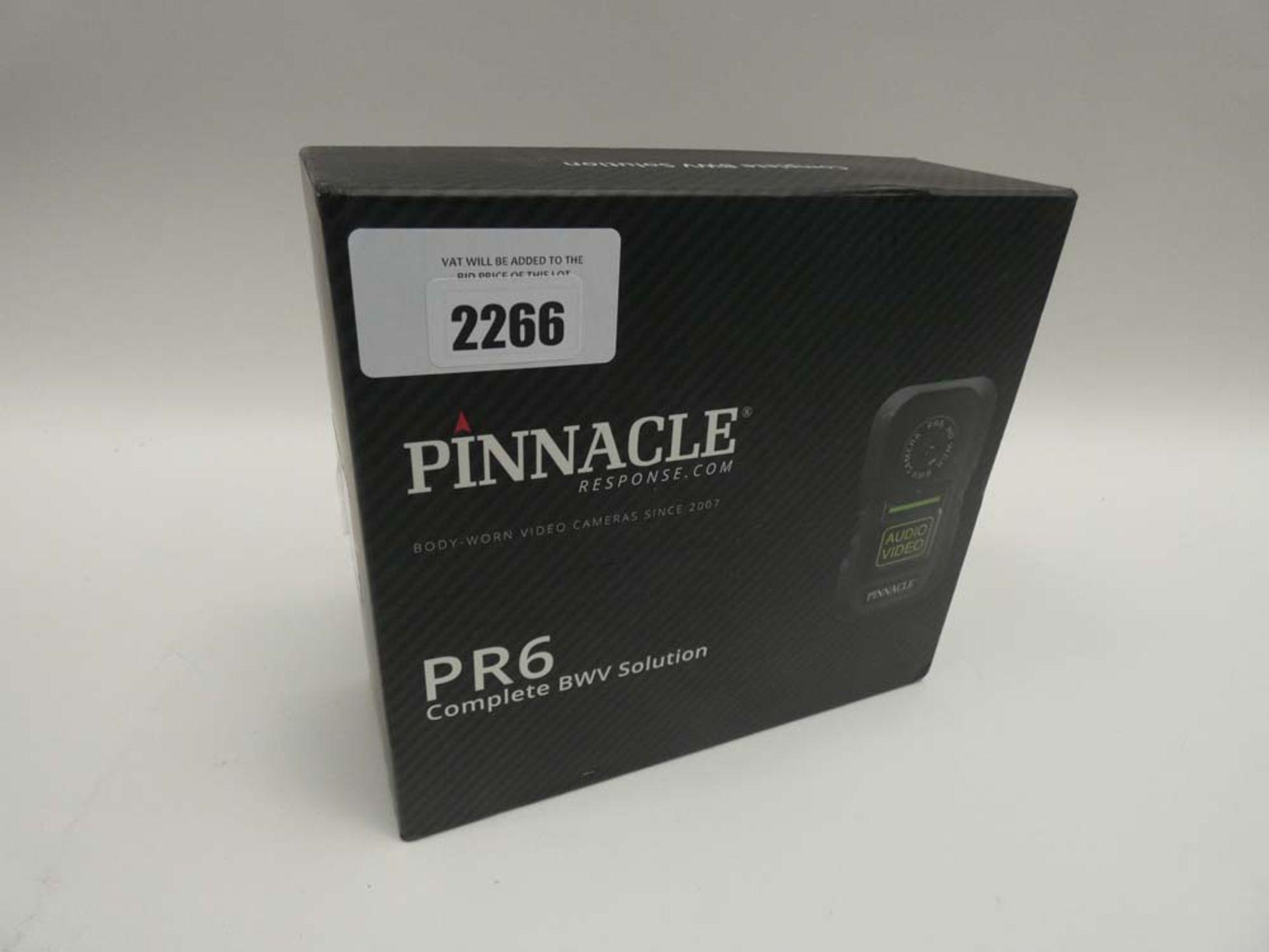 Lot 2266 - Pinnacle PR6 body-worn camera