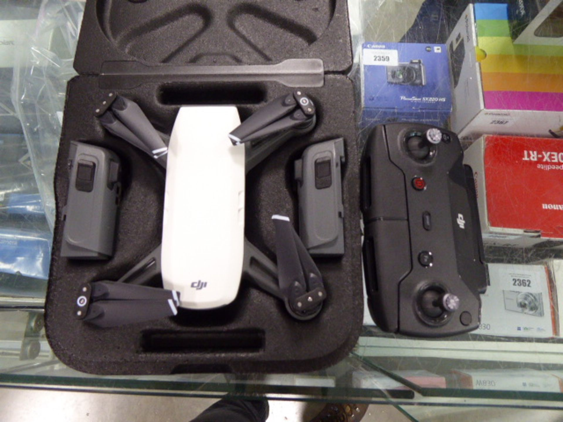 Lot 2389 - Spark Fly More combo pack by DJI
