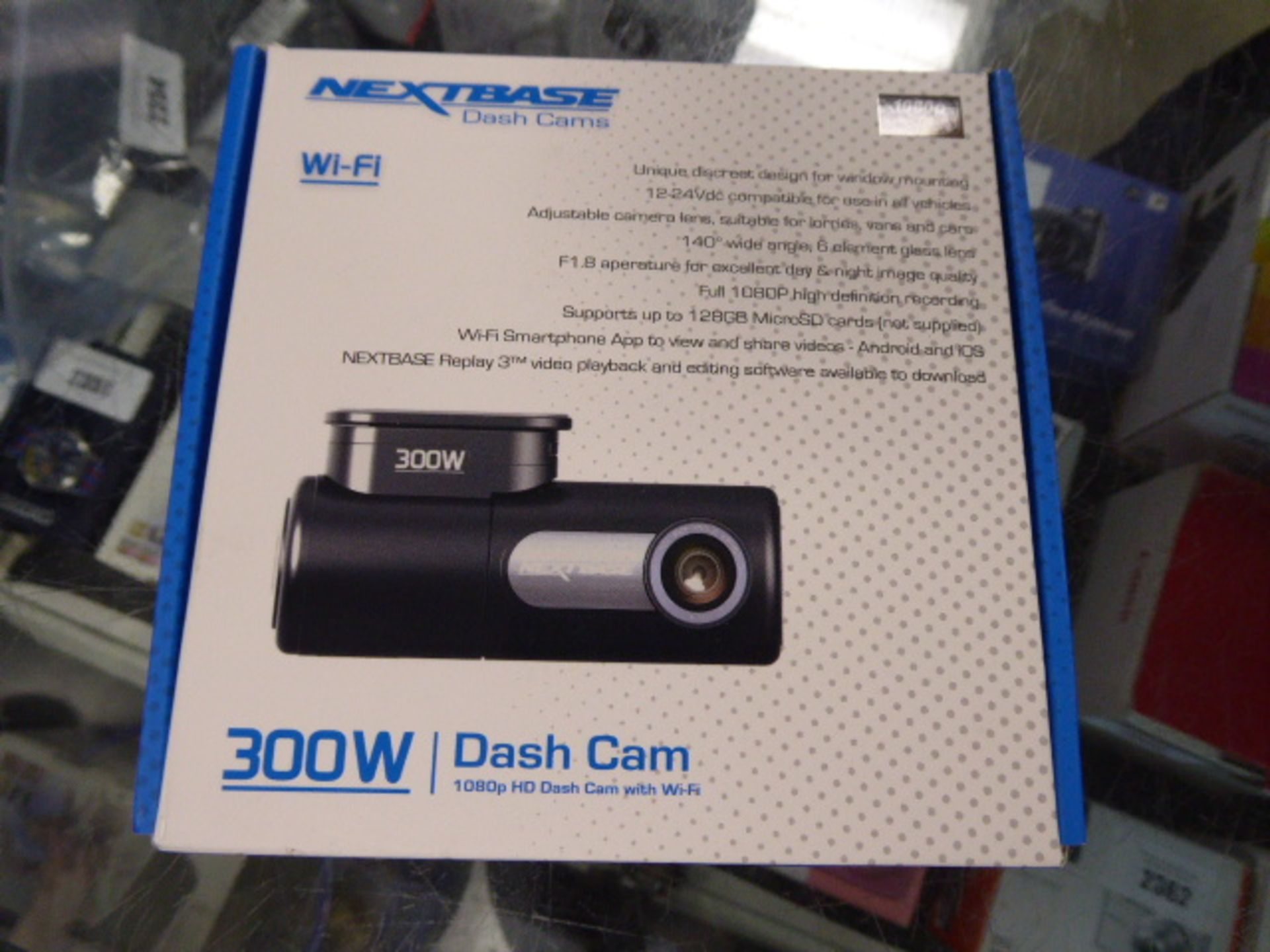 Lot 2402 - Nextbase 300W dashcam in box
