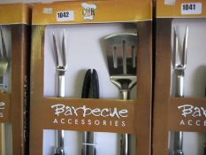 3 boxed BBQ accessories sets