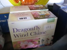 2 boxes of dragonfly wind chimes