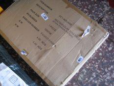 (1052) Boxed rectangular dog cage