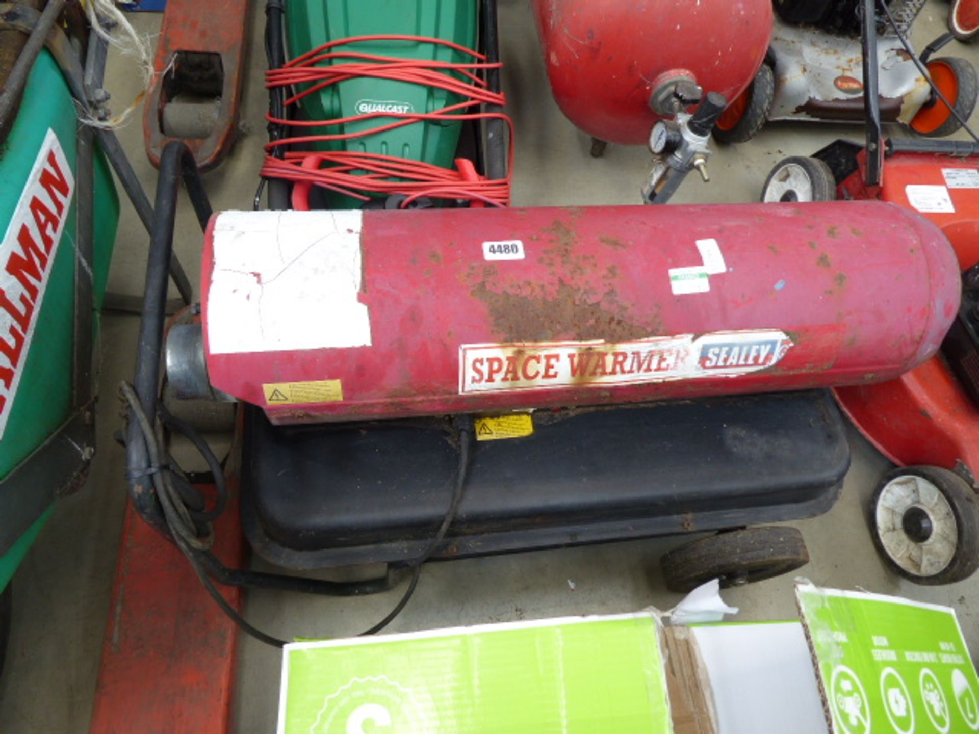 Lot 4480 - Sealey space heater