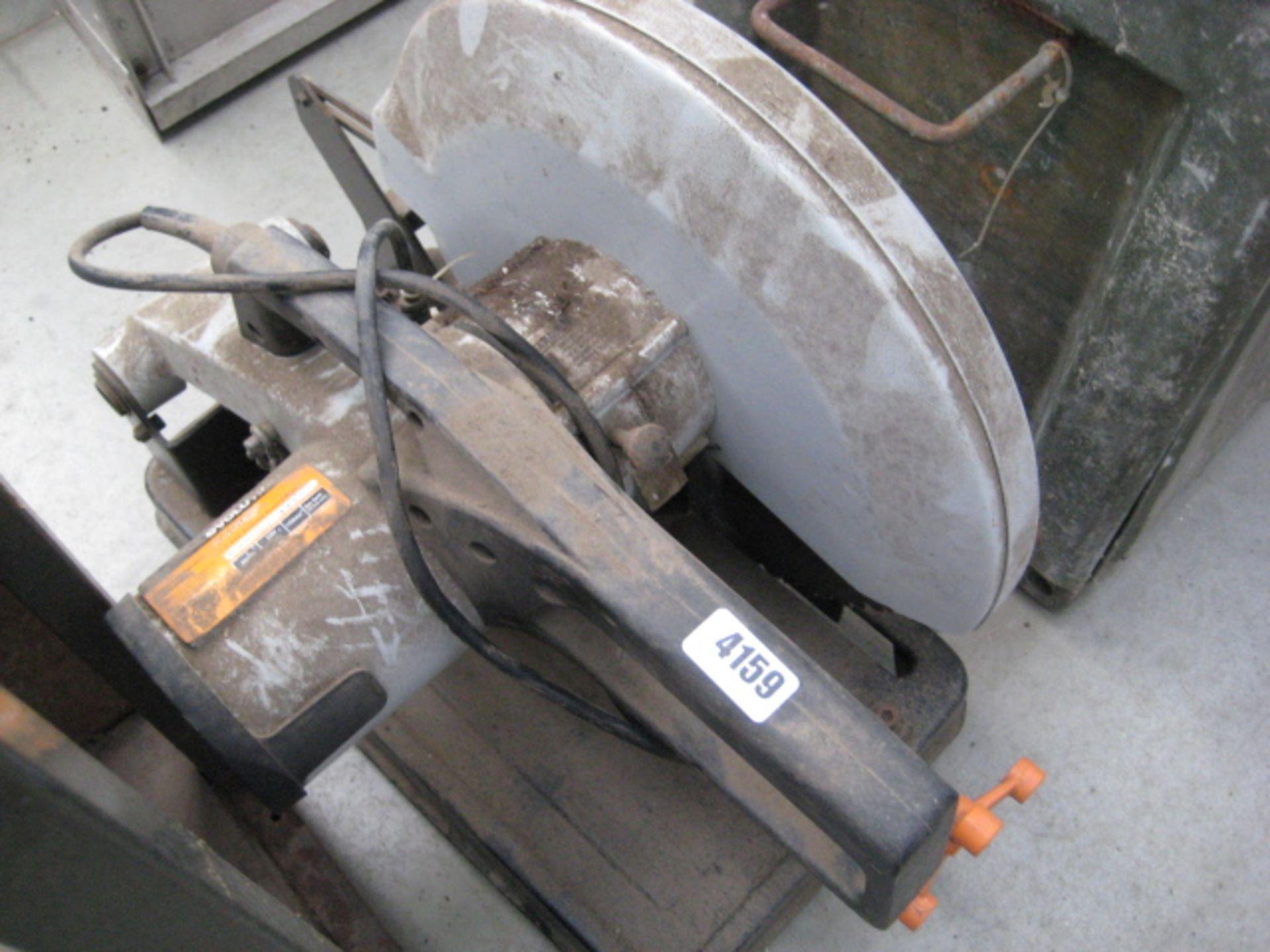 Lot 4159 - Evolution 240v electric chop saw