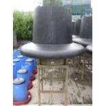 Galvanized bespoke fabricated Deer resistant Pheasant feeder (holding standard 45gal drum with