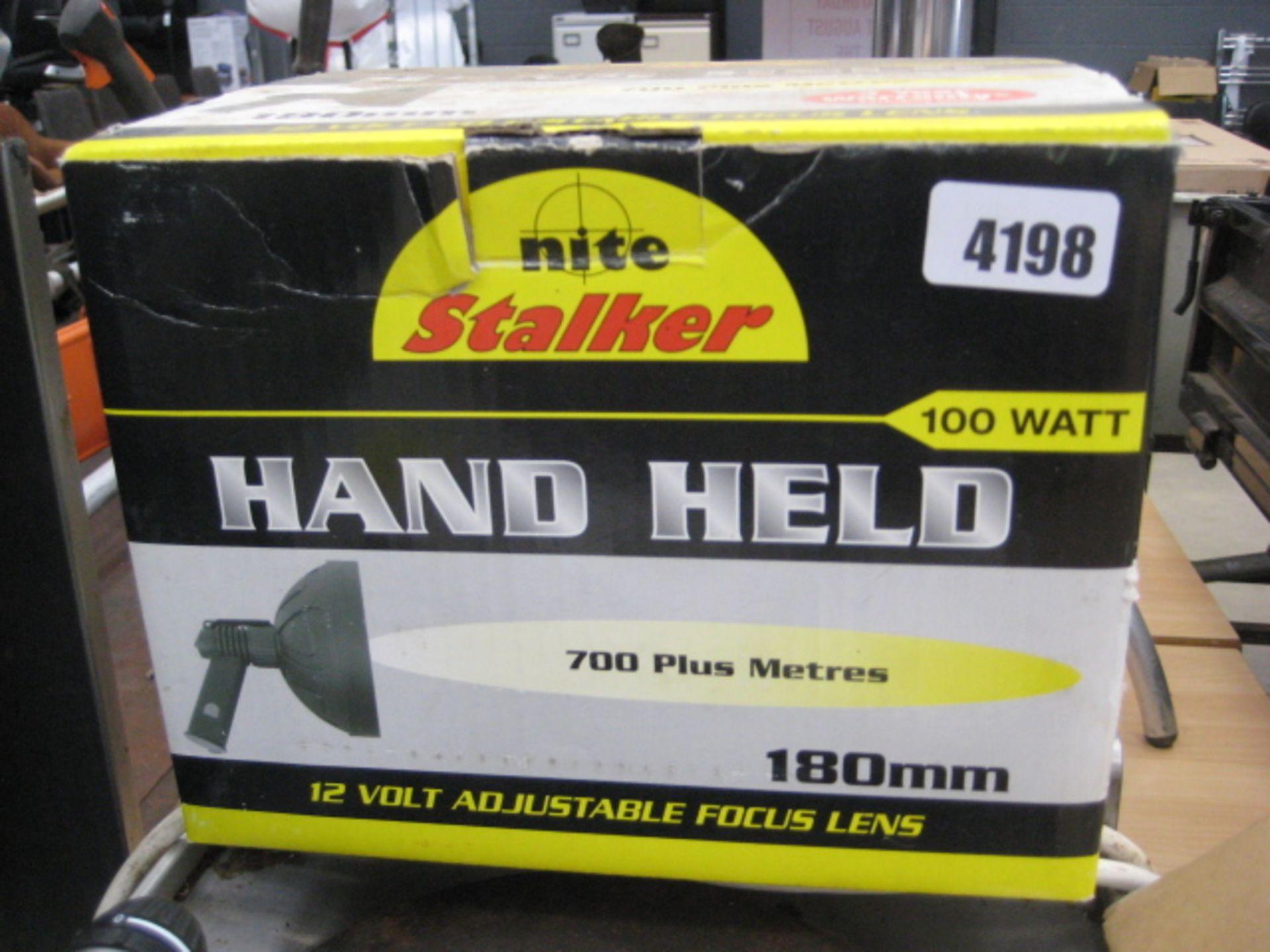 Lot 4198 - NiteLite Stalker handheld light
