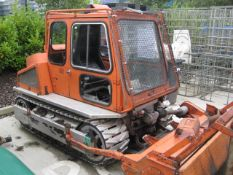 Mulag RM50 tracked crawler mower with 6' flail, 1600cc diesel (recent new track rollers, rotor shaft