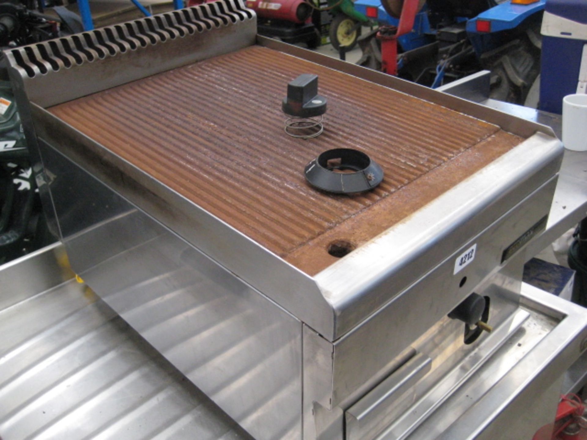Lot 4212 - Hobart Ecomax gas griddle
