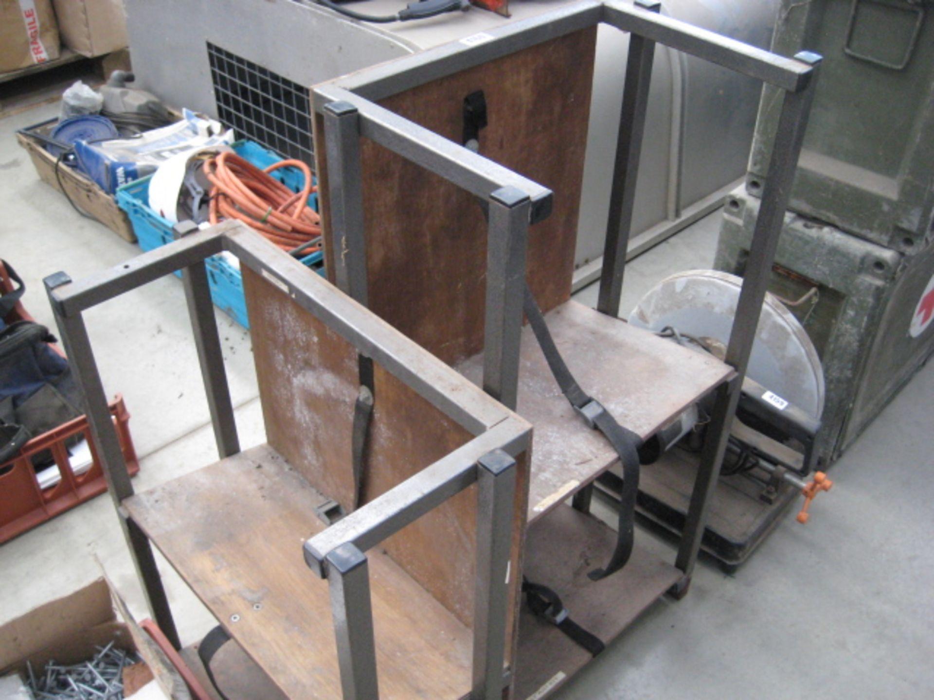 Lot 4160 - 2 vehicle mount shelf racks