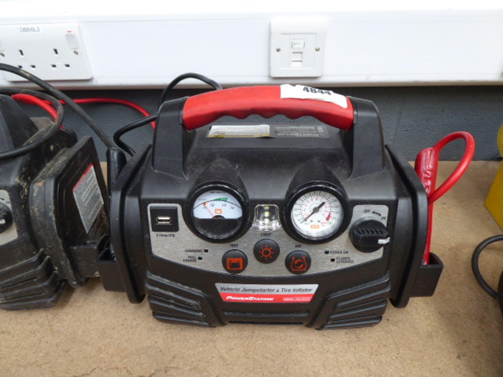 Lot 4844 - 4451 PSX jumpstart kit (no charger)
