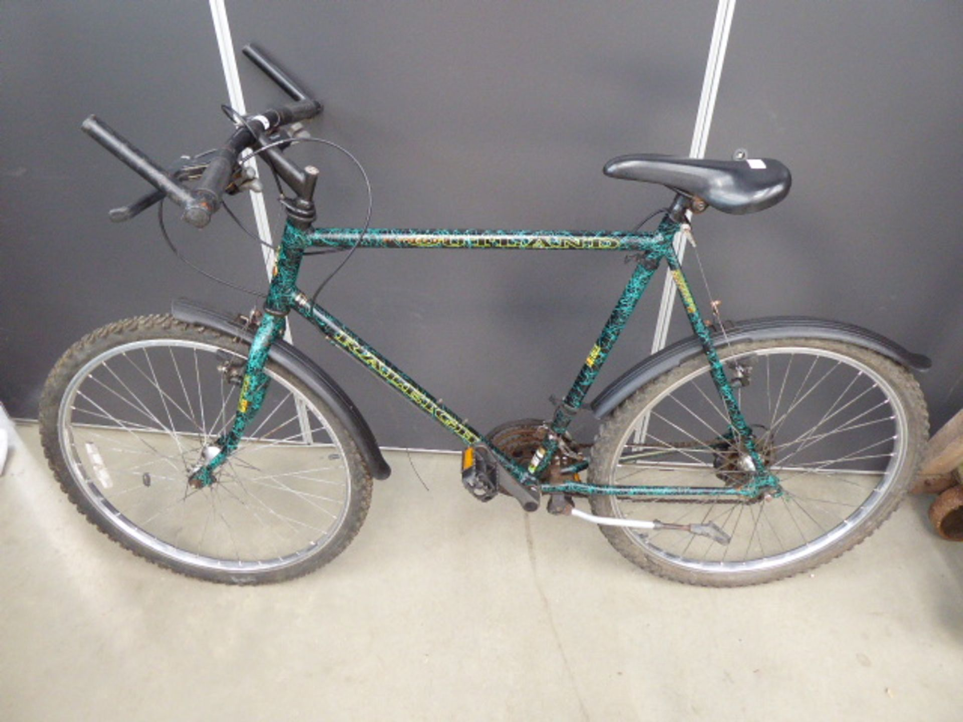 Lot 4273 - 4036 Green Raleigh gents bike