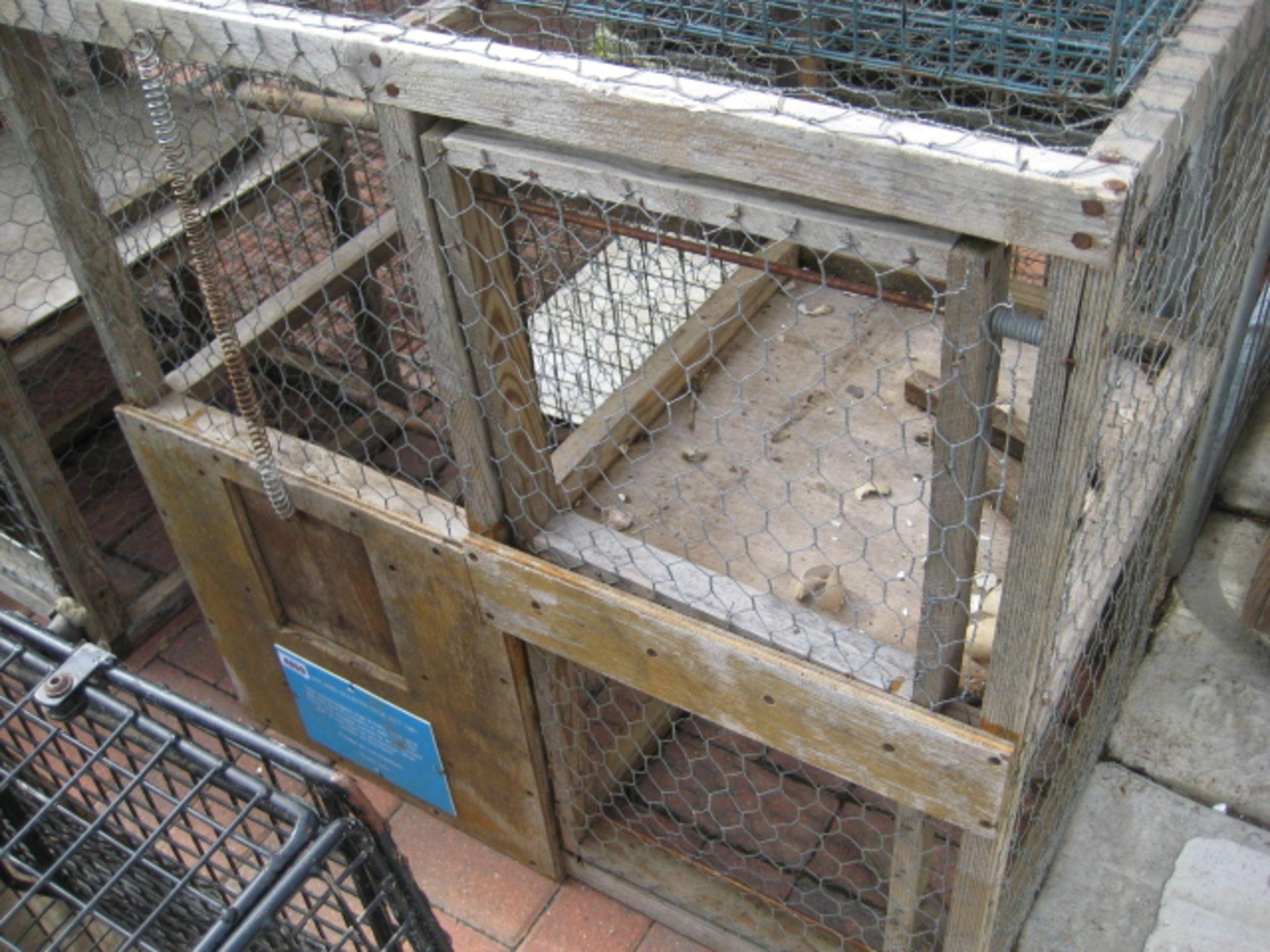 Lot 4069 - Wooden Larson trap