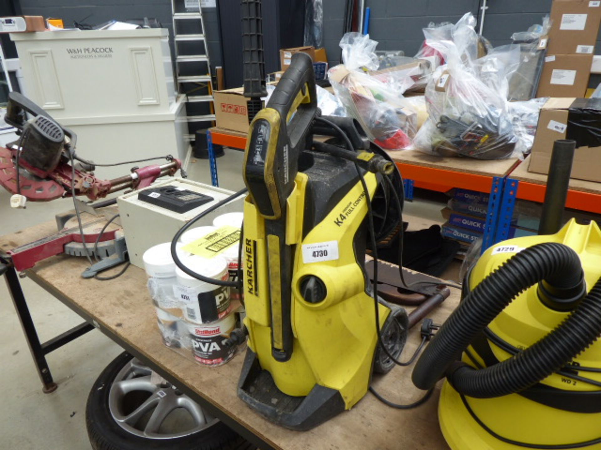 Lot 4730 - 4482 - Karcher K4 Premium full control electric pressure washer