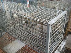 Galvanised Fox trap