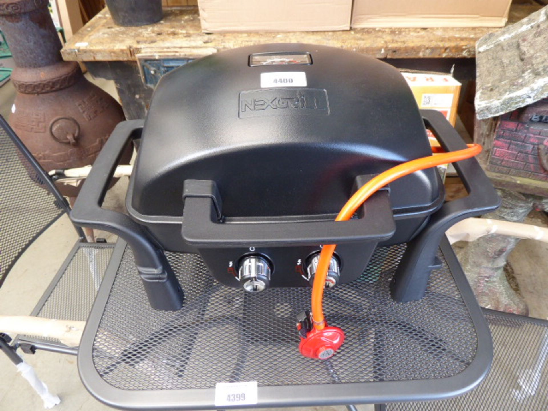 Lot 4400 - Next grill 2 burner gass BBQ