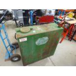 4343 Vintage Castrol oil tank and pump