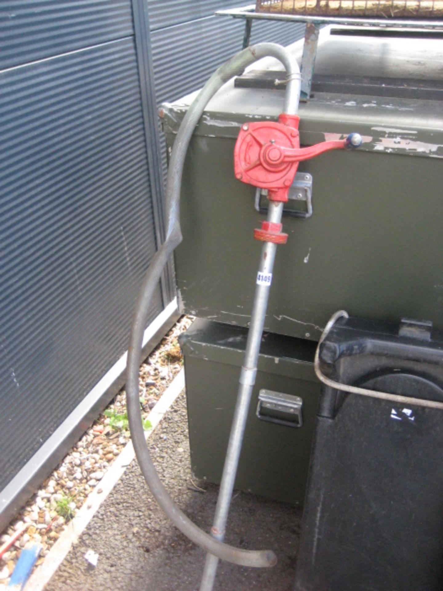 Lot 4149 - Clarke hand fuel pump