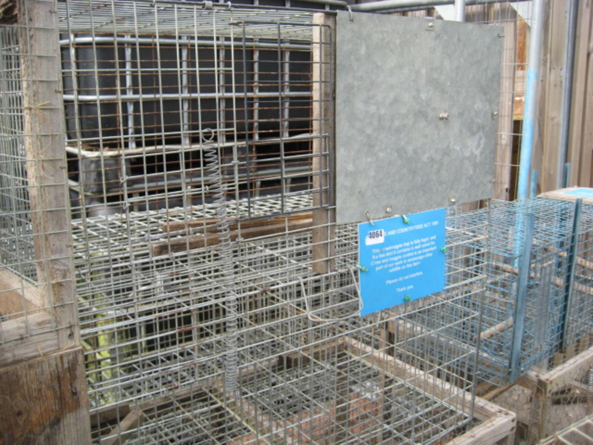 Lot 4064 - Galvanized Larson trap