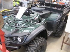 TGB Blade Landmaster 600 Hi-Capacity 4x4 quad bike, 561cc petrol CVT automatic with selectable 2WD/