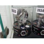 Mykronoz ZETime 44mm hybrid smart watch in stainless steel with mesh bracelet