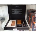 Bugatti Londra mobile phone case together with various charging accessories