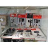 Selection of Joby mobile phone grips, mini tripods, attachments, etc