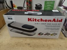 Boxed Kitchenaid 3 in 1 chop and slice set
