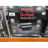 Boxed Tefal select grill