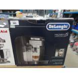 Boxed Delonghi Magnifica cappuccino coffee dispenser