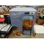Boxed Mason Craft & More glass drinks dispenser