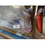 Bag containing Post-It notes, scotch glue sticks, till rolls, etc