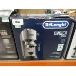 Delonghi Dedica style coffee dispenser