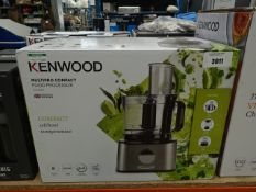 Boxed Kenwood Multi Pro compact food processor