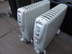 3 Rapido oil filled radiators
