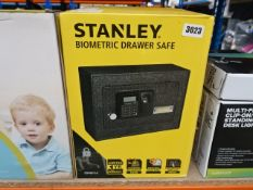 Stanley biometric drawer safe