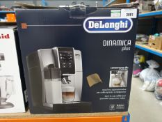 Boxed Delonghi Dinamica Plus LatteCrema system