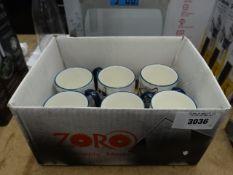 Box of 6 signature mugs