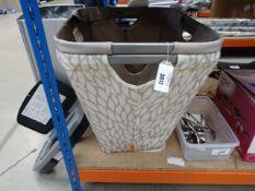 2 laundry baskets