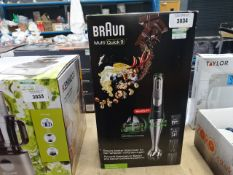 Boxed Braun MultiQuick 9 hand whisker
