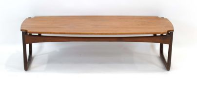 A 1960's teak occasional table,