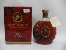 A bottle of Remy Martin XO Special Fine Champagne Cognac with box 40% 1 litre