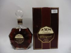 A bottle of Bisquit XO Excellence Fine Champagne Cognac with box 40% 70cl