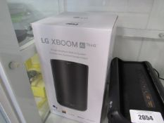 LG X-Boom AI thin Q bluetooth wifi speaker with Google assistant in box