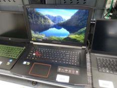 Acer Predator Helios gaming laptop core i5 8th gen processor, 8gb ram, 256gb ssd, 1tb hdd, GTX
