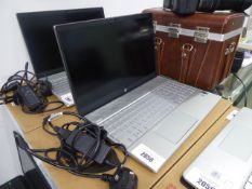 HP Pavilion laptop intel core i7 10th gen processor, 512gb ssd, 16gb ram, running Windows 10 with