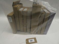 Bag contianing quantity of mixed boxed hubs