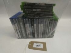 11x Xbox One games and 14x PS4 games