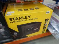 Stanley biometric home safe