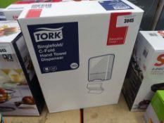 Tork hand towel dispenser